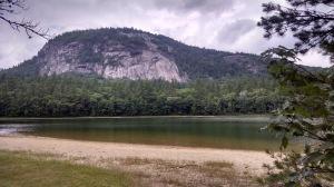 White Horse Ledge overlooking Echo Lake