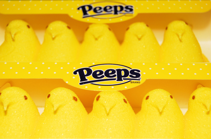 Peeps are like inverse zombies. They want you to eat them, not the other way around. This makes them especially insidious. Julie Clopper / Shutterstock.com
